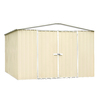 ABSCO Regent Shed Galvanized Steel Storage Shed (Common: 10-ft x 12-ft; Interior Dimensions: 9.68-ft x 11.87-ft)