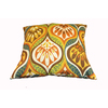 allen + roth Zig Zag Yellow UV-Protected Outdoor Accent Pillow