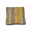 allen + roth Zig Zag Green UV-Protected Outdoor Accent Pillow