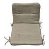 allen + roth 36.5-in L x 19.5-in W Natural Chair Cushion