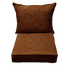 allen + roth 46.5-in L x 25-in W Rust Chair Cushion