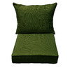 allen + roth 46.5-in L x 25-in W Green Chair Cushion