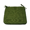 allen + roth 18-in L x 19-in W Green Chair Cushion