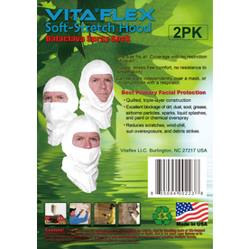 VitaFlex 2-Pack One Size Fits All Polypropylene Painting Hood