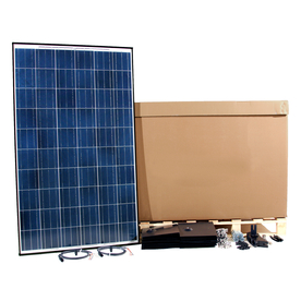 Westinghouse Solar 20-Module 5-ft 5-5/16-in x 3-ft 3-5/16-in 250-Watt Solar Panel 002-11268-020