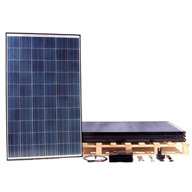Westinghouse Solar 4-Module 5-ft 5-5/16-in x 3-ft 3-5/16-in 250-Watt Solar Panel 002-11268-004