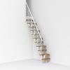 Arke Oak Xtra x 9.1-ft White Modular Staircase Kit