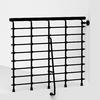 Arke Oak Xtra 47-ft Black Painted Powder-Coated Steel Stair Railing Kit