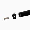 Arke Oak Xtra 47-ft Black Prefinished Aluminum Stair Railing Kit