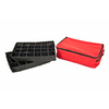 TreeKeeper 14-in x 6-in Red Polyester Ornament Storage Bag