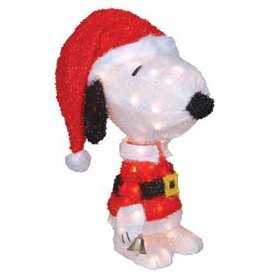 Peanuts 1.54-ft Tinsel Peanuts Snoopy Christmas