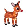 Rudolph the Red-Nosed Reindeer 1.47-ft Tinsel Christmas Rudolph