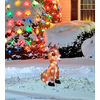 Rudolph the Red-Nosed Reindeer 1.54-ft Tinsel Clarice Christmas