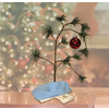 Peanuts Wood Lonely Tree Tabletop Christmas Decoration