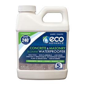 Eco Advance Concrete/Masonry Siloxane Waterproofer Liquid Concentrate 16-oz