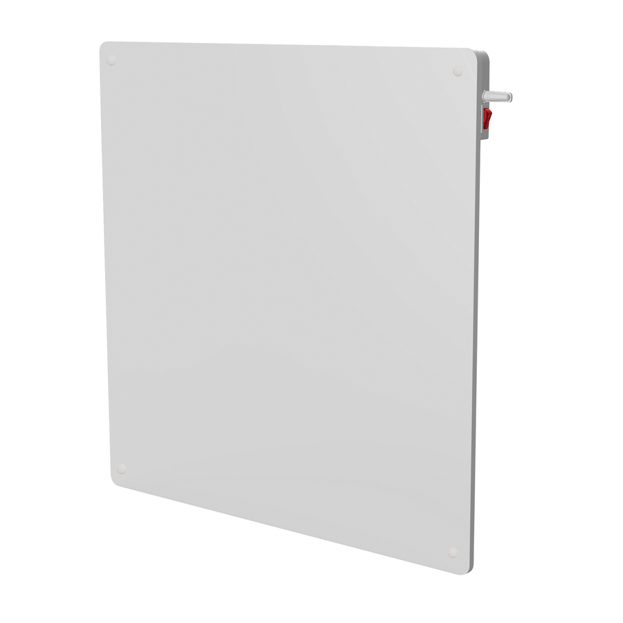 Flat Designer Thermostatic Electric Heating Heated: Shop ECO-heater 1,365-BTU Convection Flat Panel Electric