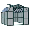 Rion 8.5-ft L x 8.5-ft W x 8-ft H Plastic Poly Sheeting Greenhouse
