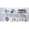 EZ Shelf 3.33-ft to 6.25-ft White Adjustable Mount Wire Shelving Kits