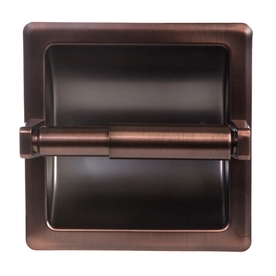 ARISTA Oil-Rubbed Bronze Recessed Toilet Paper Holder