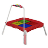 Skywalker Skywalker 3-ft Square Multicolor Kids Trampoline
