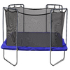 Skywalker Skywalker 13-ft Square Blue Backyard Trampoline with Enclosure