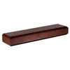 Fireside Decorators 60-in W x 4-in H x 8-in D Espresso Cherry Contemporary Fireplace Mantel