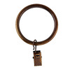 allen + roth 10-Pack Weathered Brass Curtain Rings