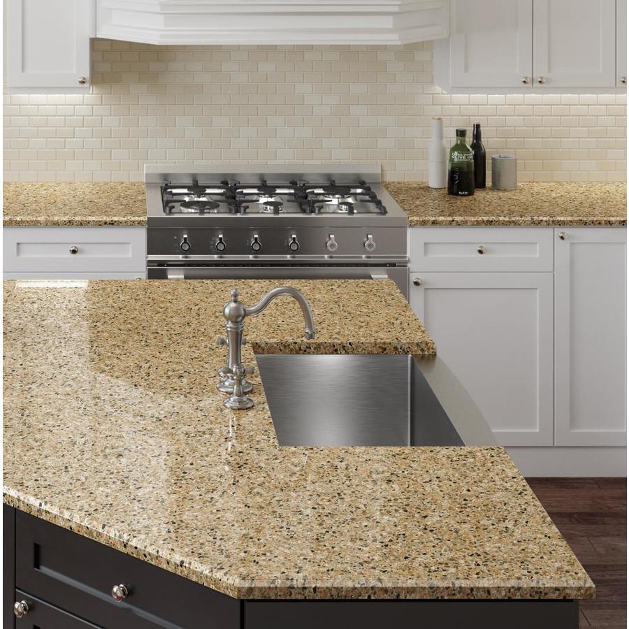 Granite Countertops Lowes Reviews : ... + roth Fairway Rock Quartz Kitchen Countertop Sample at Lowes.com