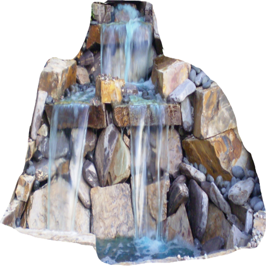Enlarged image for Pond waterfall kit