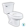 Penguin Toilets White 1.6 GPF High Efficiency WaterSense Elongated Dual-Flush 2-Piece Toilet