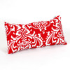 Majestic Home Goods 12-in W x 20-in L Red Rectangular Accent Pillow