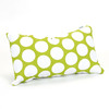 Majestic Home Goods 12-in W x 20-in L Hot Green Rectangular Indoor Decorative Complete Pillow