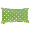 Majestic Home Goods 12-in W x 20-in L Lime Rectangular Indoor Decorative Complete Pillow