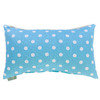 Majestic Home Goods 12-in W x 20-in L Aquamarine Rectangular Indoor Decorative Complete Pillow