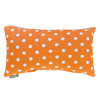 Majestic Home Goods 12-in W x 20-in L Tangerine Rectangular Accent Pillow