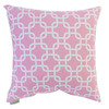 Majestic Home Goods 20-in W x 20-in L Soft Pink Square Indoor Decorative Complete Pillow