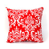 Majestic Home Goods 20-in W x 20-in L Red Square Accent Pillow