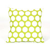 Majestic Home Goods 20-in W x 20-in L Hot Green Square Indoor Decorative Complete Pillow