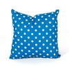 Majestic Home Goods 20-in W x 20-in L Ocean Square Indoor Decorative Complete Pillow