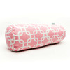 Majestic Home Goods 8-in W x 18.5-in L Soft Pink Oblong Indoor Decorative Complete Pillow