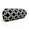 Majestic Home Goods 8-in W x 18.5-in L Black Oblong Indoor Decorative Complete Pillow