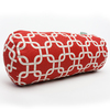 Majestic Home Goods 8-in W x 18.5-in L Red Oblong Indoor Decorative Complete Pillow