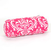 Majestic Home Goods 8-in W x 18.5-in L Hot Pink Oblong Indoor Decorative Complete Pillow