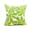 Majestic Home Goods Sage Plantation Floral Square Outdoor Decorative Pillow