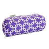 Majestic Home Goods 8-in W x 18.5-in L Purple Oblong Indoor Decorative Complete Pillow