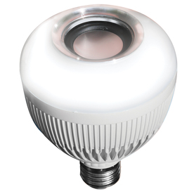 Shop blue sky wireless 8 watt 65w equivalent 3 000k for Led light bulb with built in bluetooth speaker