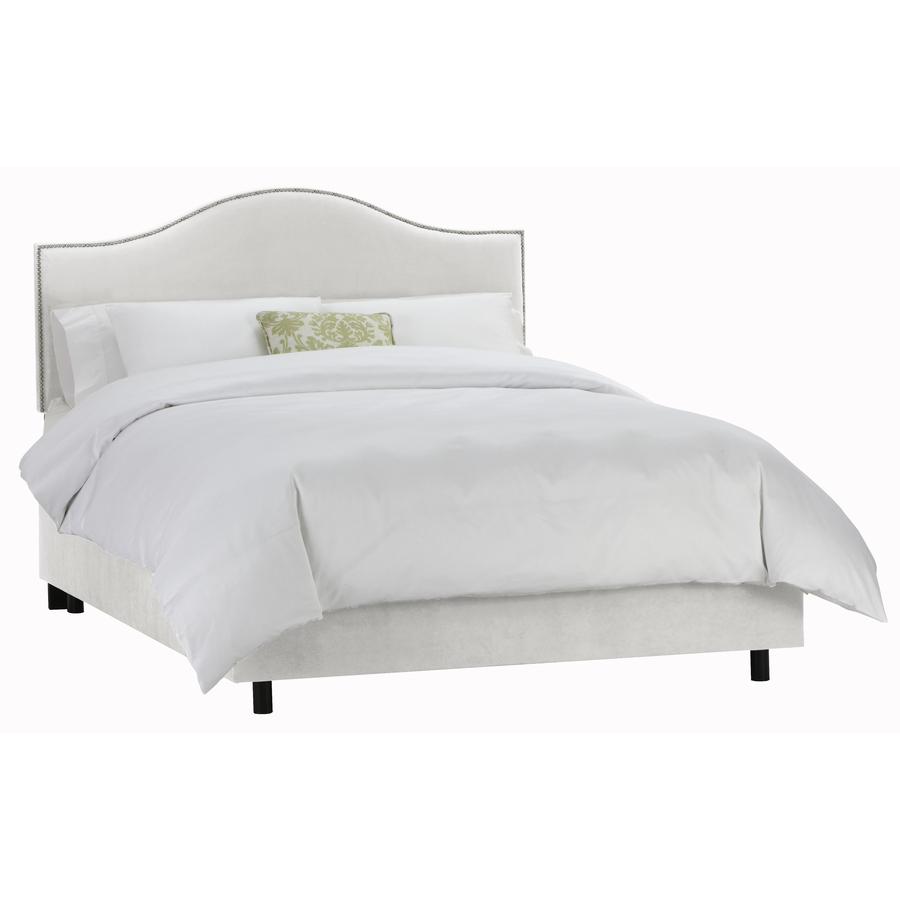 Off White Upholstered Bed For Pinterest