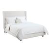 Skyline Furniture Diversey White Full Upholstered Bed