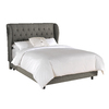 Skyline Furniture Southport Grey Queen Upholstered Bed
