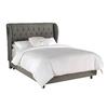 Skyline Furniture Southport Grey King Upholstered Bed